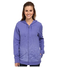 Columbia Spotted Ombre Full Zip Hoodie Purple Lotus Women's Sweatshirt