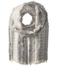 Echo All Frills Wrap Silver Scarves