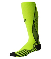 New Balance Compression Over The Calf Tube Yellow Crew Cut Socks Shoes