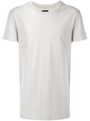 Hudson Long T Shirt Nude Neutrals