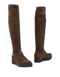 Braccialini Boots Dark Brown