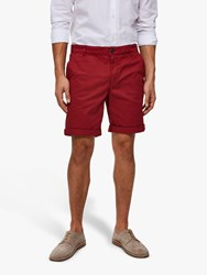 Selected Homme Paris Shorts Brick Red