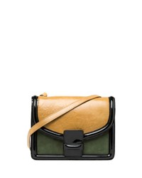 Dries Van Noten Contrast Shoulder Bag Camel
