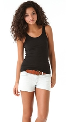 James Perse Daily Tank Black