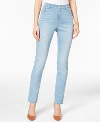 Inc International Concepts Curvy Fit Skinny Jeans Only At Macy's Horizon Wash