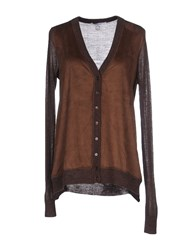Liu Jo Jeans Knitwear Cardigans Women Dark Brown