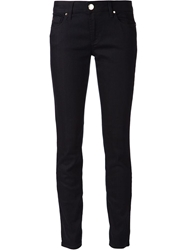 Versace Collection Studded Pocket Skinny Jeans Blue