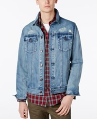 American Rag Men's Denim Jacket Only At Macy's Boro Wash