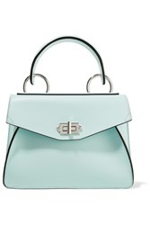 Proenza Schouler Hava Small Leather Tote Mint