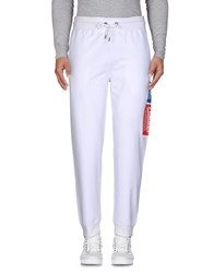 Franklin And Marshall Casual Pants White