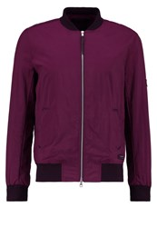 Religion Object Bomber Jacket Oxblood Lilac