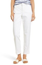 Nydj Women's Madison Ankle Trousers Optic White