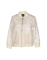 Pf Paola Frani Coats And Jackets Jackets Women Beige