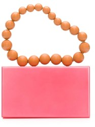 Charlotte Olympia 'Necklace Pandora' Clutch Pink