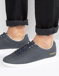 Lambretta Retro Trainers In Navy Navy
