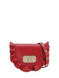 Red Valentino Audrey Leather Shoulder Bag Ribes