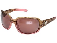 Suncloud Polarized Optics Cookie Matte Tortoise Pink Fade Rose Polycarbonate Lens Sport Sunglasses Brown