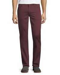 7 For All Mankind Luxe Sport Slimmy 5 Pocket Pants Chia Chianti