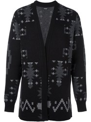 Marcelo Burlon County Of Milan 'Picudo' Cardigan Black