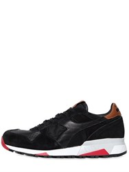 Diadora Trident 90 Suede And Leather Sneakers