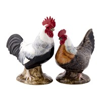 Quail Ceramics Chicken Salt And Pepper Shakers Dorking