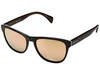 Paul Smith Hoban Deluxe Artists Stripe Pink Mirror Fashion Sunglasses Brown