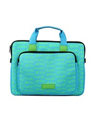 Marc By Marc Jacobs Work Bags Turquoise
