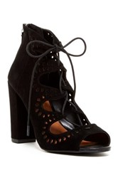 14Th And Union Cecily Laser Cut Sandal Wide Width Available Black