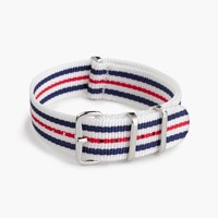 J.Crew Watch Strap In Stripe