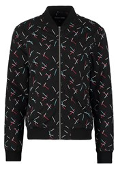 Your Turn Bomber Jacket Black Mix