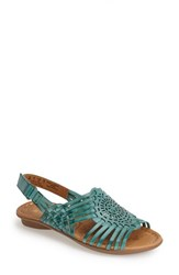 Women's Naturalizer 'Wendy' Huarache Sandal Turquoise