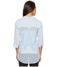 Lole Cassia Shirt Zenith Women's Long Sleeve Button Up Blue