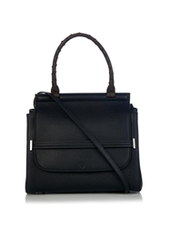 The Row Leather And Ostrich Shoulder Bag