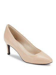 Cole Haan Helen Grand Leather Pumps Nude