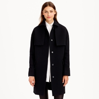 J.Crew Collection Double Cloth Trench Coat
