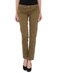 Dondup Casual Pants Military Green