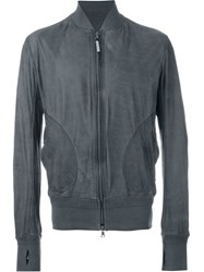 Isaac Sellam Experience Thumb Hole Jacket Grey