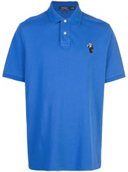 Polo Ralph Lauren Martini Bear Shirt Blue