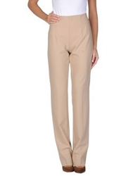 Akris Punto Casual Pants Sand