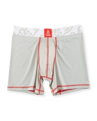 Psycho Bunny Power Short Performance Boxer Briefs Mirage Gray