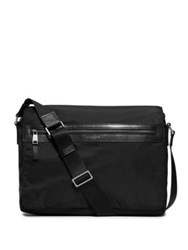 Michael Kors Parker Nylon Messenger Bag Black
