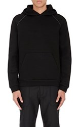 Alexander Wang T By Men's Oversized Hoodie Black
