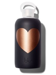 Bkr Copper Jet Heart Water Bottle 24Oz. No Color