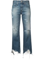 Ag Jeans Rhett Cropped Blue