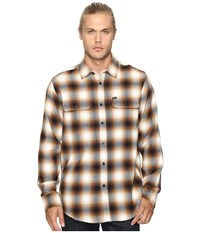 Obey Dobbs Woven Brown Multi Men's Clothing