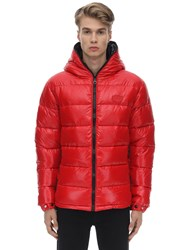 Duvetica Dubhe Nylon Down Jacket Red