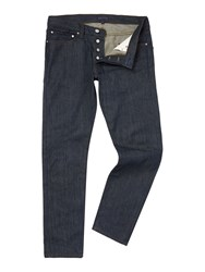 Perry Ellis Straight Fit Jeans Denim Dark Wash