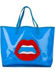 Yazbukey Large Tote Bag Blue