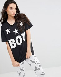 Boy London Tri Star T Shirt Black