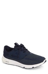 Sperry Men's 7 Seas Sneaker Navy Fabric